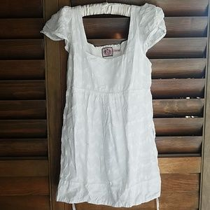 White Juicy Couture shirt